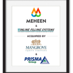 MEHEEN & Inline Filling Systems has been acquired by Mangrove Equity Partners & Prisma Group