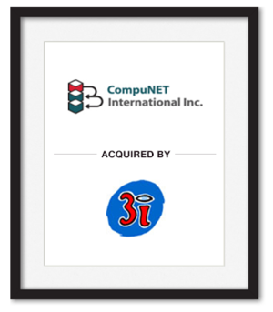 CompuNET International Inc. acquired by 3I