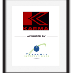 Karma acquired by Transact International