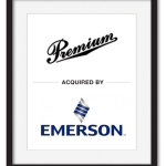 Premium acquired by Emerson