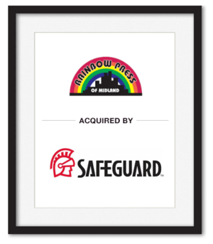 Rainbow Press of Midland acquired by Safeguard